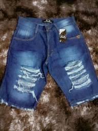 Bermuda jeans do 42 ao 50