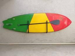 Suporte para Stand Up e prancha de Surf (Não cai com o vento)