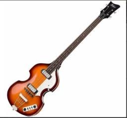 Contra Baixo Hofner Viola Violin Bass Ignition Sunburst Hibb