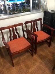 Vendo cadeiras de decoração