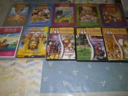 DVDS DESENHOS BIBLICOS
