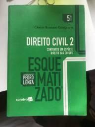 Livro de direito civil 2 esquematizado PERFEITO ESTADO