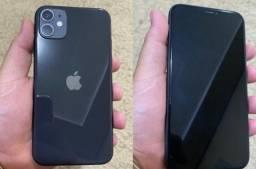 iPhone 11, 64G Preto, Novo