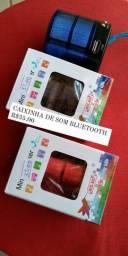 CAIXINHA DE SOM BLUETOOTH R$35