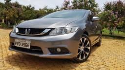 Honda Civic LXR 2.0 2015 - COMPLETO e AUTOMÁTICO
