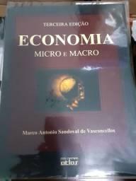 Livro Economia, micro e macro