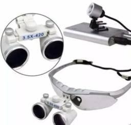 Óculos Cirúrgico Lupa 3,5 X 420mm ( Dentista\Médico\Veterinário)
