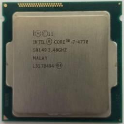 I7- 4770 + placa mãe , e 8gb RAM (2x4gb) por favor leia a descrição!