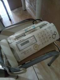Panasonic: Fax Panasonic KX-FP207BR com Identificador de Chamada