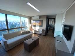Título do anúncio: Flat Qt e Sala Mobiliado no Ramada. Andar Alto. 47m2