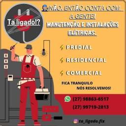 Título do anúncio: Eletricista predial, comercial e residencial.