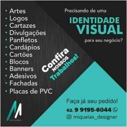 Título do anúncio: Precisando de uma identidade visual para seu negócio?