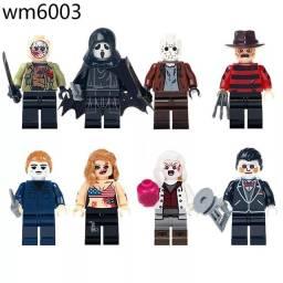 Bonecos minifiguras compatíveis com lego série Terror