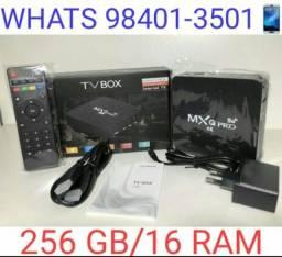 Tv_box MXQ PRÓ 4k 5G Novos Garantia e Entregamos