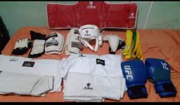 Kit Equipamentos Taekwondo