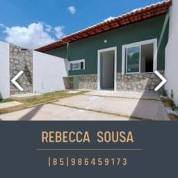 Ótima oportunidade de casa em Barrocao / Itaitinga a partir de 130mil