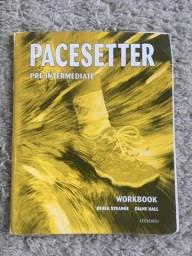 Livro Ensino Inglês Pacesetter Nível Pre-intermediate Workbook Exercícios Ótimo Estado