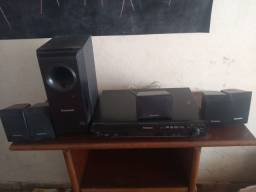 Rack e Home Theater sound system sa-pt160