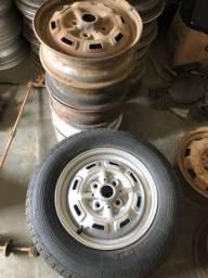 Título do anúncio: Jogo de rodas originais de Fiat 147 Rallye