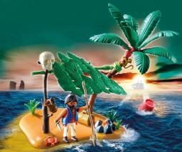 Título do anúncio: Playmobil Náufrago na ilha Cód. 5138