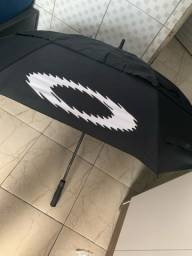 Umbrella black golf dois andar automática.