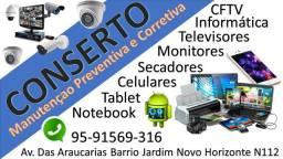 Conserto equipos electronicos