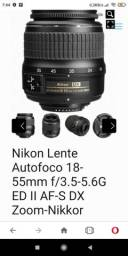 Título do anúncio: Lente Nikon DX 28-55mm foco automático