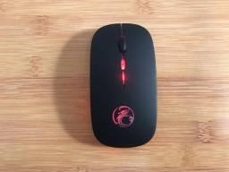 Mouse Gamer RGB sem fio Bluetooth