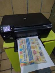 Título do anúncio: Impressora multifuncional HP D110 Wi-Fi cartuchos cheios funcionando