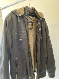Jaqueta pesadona e quentinha