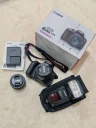 Título do anúncio: Câmera Canon EOS T7i