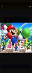 Título do anúncio: Kit Decoração Painel De Festa E Displays Super Mario Bros