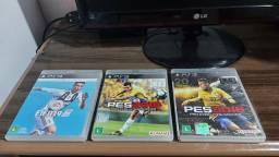 Vendo 3 DVDs Blu-Ray de Playstation 3