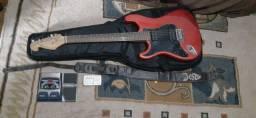 Título do anúncio: Guitarra Giannini sonic x series CANHOTA