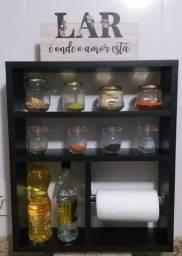Nichos e porta condimentos