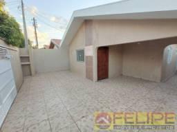 Otima Casa de esquina na Vila São João p/ Locação c/ 03 qtos, Ourinhos/SP