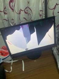 Monitor gamer para consertar (tela trincada)