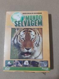 Box O Mundo Selvagem (10 Discos)