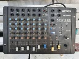 Título do anúncio: Mesa de som wattsom mxs 8 sd