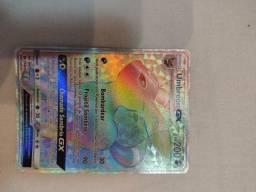 Carta Pokémon Umbreon GX 154 raro secreto