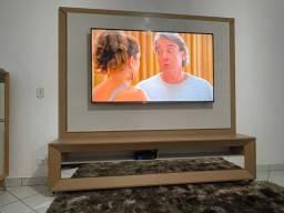 Painel com rack para tv - RUDNICK