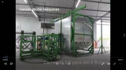 Máquinas para Rotomoldagem pallets vasos agro negócio saneamento básico playgrounds
