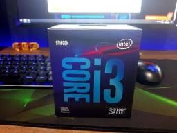 Processador Intel Core 9°geração i3 9100F