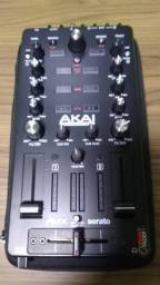 Akai Amx Mixer Interface Audio Som Serato Dj Controlador Usb