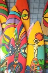 Arte Pranchas surf  recicladas  decoração
