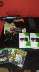 Xbox 360 slin desbloqueado super conservado