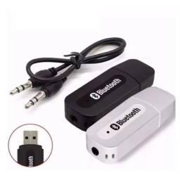 Receptor Transmissor Bluetooth Veicular Carro Automotivo Som USB P2 Saida Car B02