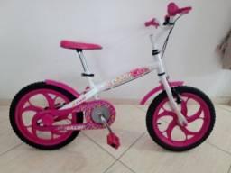 Bicicleta Infantil - Caloi Ceci aro 16 (semi nova)