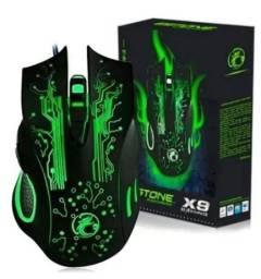 Mouse Gamer 7 botões X9 Gaming