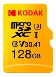 Cartão De Memória Kodak Micro Sdhc Uhs-i U3 V30 128gb 100mbs